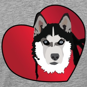 Love A Husky - Men's Premium T-Shirt