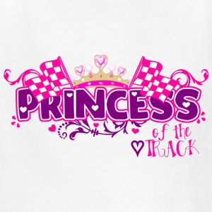 Princess of the Track - Kids' T-Shirt