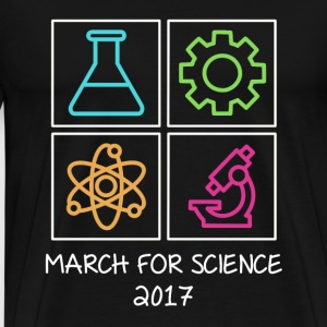 March For Science 2017 T-Shirts - Men's Premium T-Shirt
