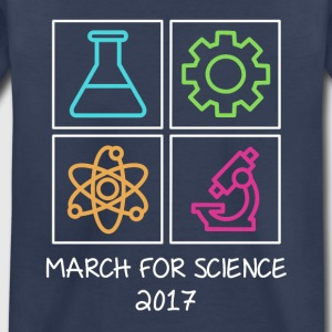 March For Science 2017 Kids' Shirts - Kids' Premium T-Shirt