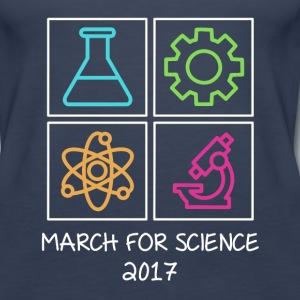 March For Science 2017 Tanks - Women's Premium Tank Top