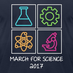 March For Science 2017 T-Shirts - Men's T-Shirt by American Apparel