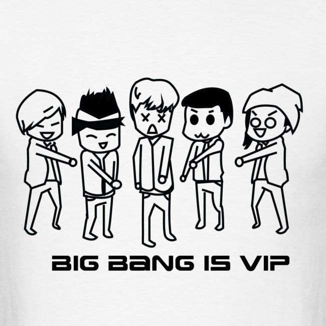 [Big Bang] Running Man! Ep 84 & 85 Outline   Men's T-Shirt