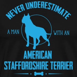 Dog Stafford NUM T-Shirts - Men's Premium T-Shirt