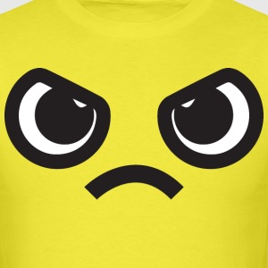 Kawaii Angry Face T-Shirts - Men's T-Shirt