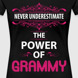 Never Underestimate The Power Of The Grammy T-Shirts - Women's Premium T-Shirt