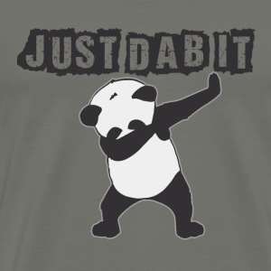 JUST DAB IT. Panda - Men's Premium T-Shirt