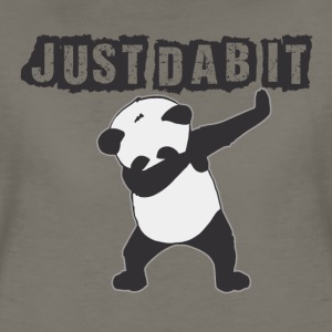 JUST DAB IT. Panda - Women's Premium T-Shirt