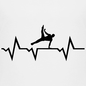 Gymnast, Gymnastics, Heartbeat - man Baby & Toddler Shirts - Toddler Premium T-Shirt