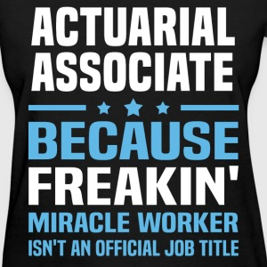 Actuarial Associate - Women's T-Shirt