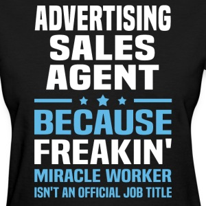 Advertising Sales Agent - Women's T-Shirt