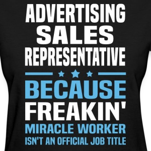 Advertising Sales Representative - Women's T-Shirt