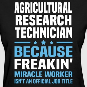 Agricultural Research Technician - Women's T-Shirt