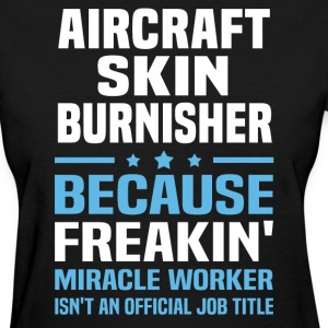 Aircraft Skin Burnisher - Women's T-Shirt