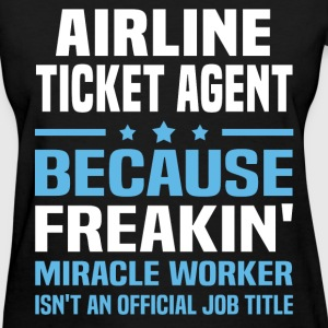 Airline Ticket Agent - Women's T-Shirt