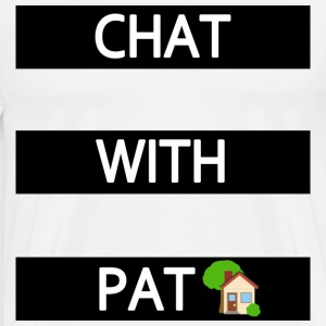 CHATWITHPAT T-Shirts - Men's Premium T-Shirt
