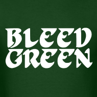 Design ~ Birds Bleed Green Shirt