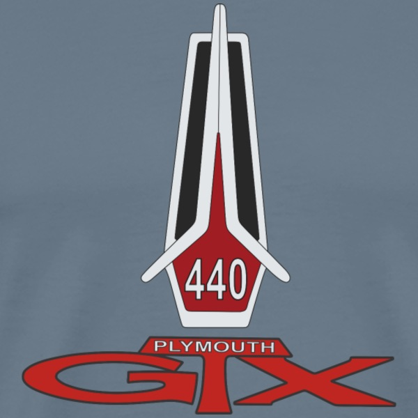 Plymouth 440 GTX T-Shirts - Men's Premium T-Shirt