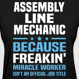 Assembly Line Mechanic - Women's T-Shirt