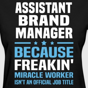 Assistant Brand Manager - Women's T-Shirt