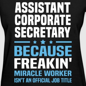 Assistant Corporate Secretary - Women's T-Shirt