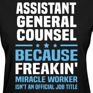 Assistant General Counsel - Women's T-Shirt