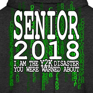 Senior 2018 Y2K Green Hoodies - Men's Hoodie