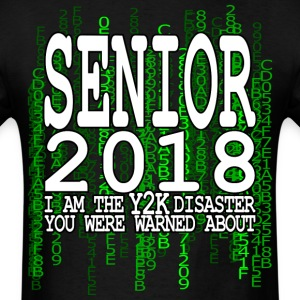 Senior 2018 Y2K Green T-Shirts - Men's T-Shirt