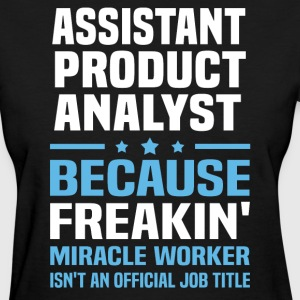Assistant Product Analyst - Women's T-Shirt
