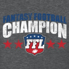 FANTASY FOOTBALL CHAMPION Women's T-Shirts