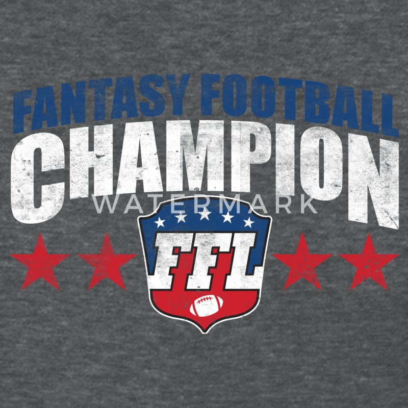 Fantasy Football Champion T Shirt Spreadshirt