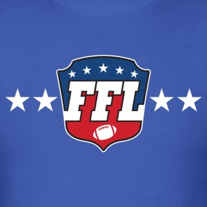 FANTASY FOOTBALL LEAGUE LOGO T-Shirts - Men's T-Shirt
