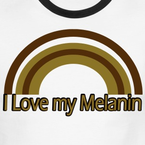 Melanin rainbow T-Shirts - Men's Ringer T-Shirt