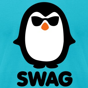 SWAG Pinguin T-Shirts - Men's T-Shirt by American Apparel
