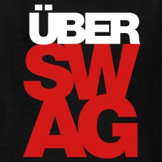 Über SWAG Kids' Shirts