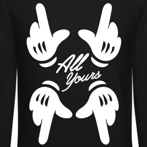 All Yours Hands - Crewneck Sweatshirt