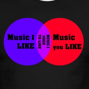 Music I like Music you like T-Shirts - Men's Ringer T-Shirt