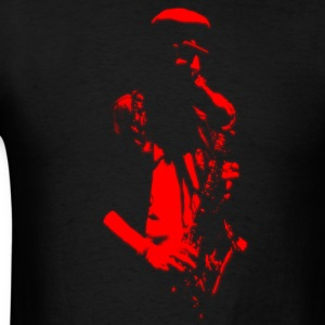 Saxophonist Artwork T-Shirts - Men's T-Shirt