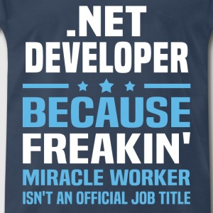 .Net Developer - Men's Premium T-Shirt