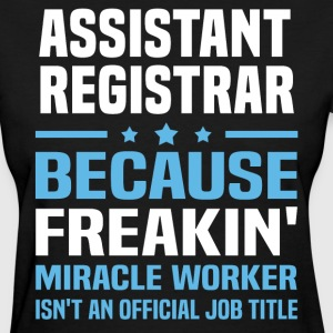 Assistant Registrar - Women's T-Shirt