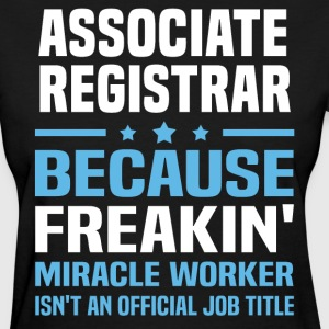 Associate Registrar - Women's T-Shirt