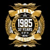 July 1985 32 Years Of Being Awesome T-Shirts - Men's Premium T-Shirt