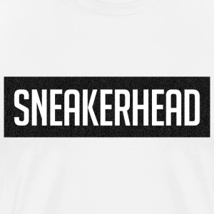sneakerhead boost 350 black T-Shirts - Men's Premium T-Shirt