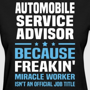Automobile Service Advisor - Women's T-Shirt