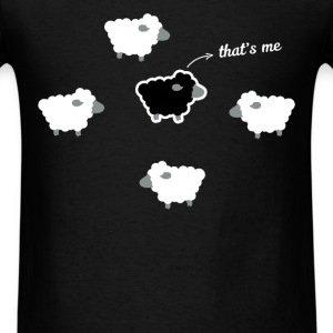 Black sheep - That's me - Men's T-Shirt