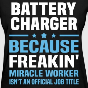 Battery Charger - Women's T-Shirt