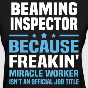 Beaming Inspector - Women's T-Shirt