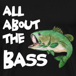 ABOUT THE BASS T-Shirts - Men's Premium T-Shirt
