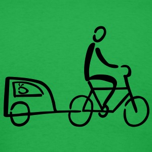 Bike Trailer T-Shirts - Men's T-Shirt