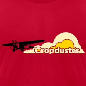 Cropduster T-Shirts - Men's T-Shirt by American Apparel